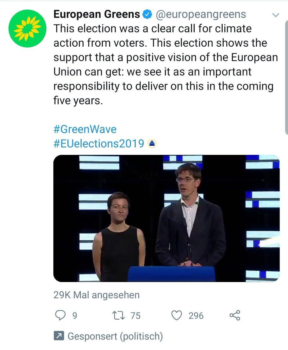 Hallo Grüne,  musstet Ihr für die Verbreitung dieses Tweets sogar noch zahlen, weil ihn sonst niemand sieht?