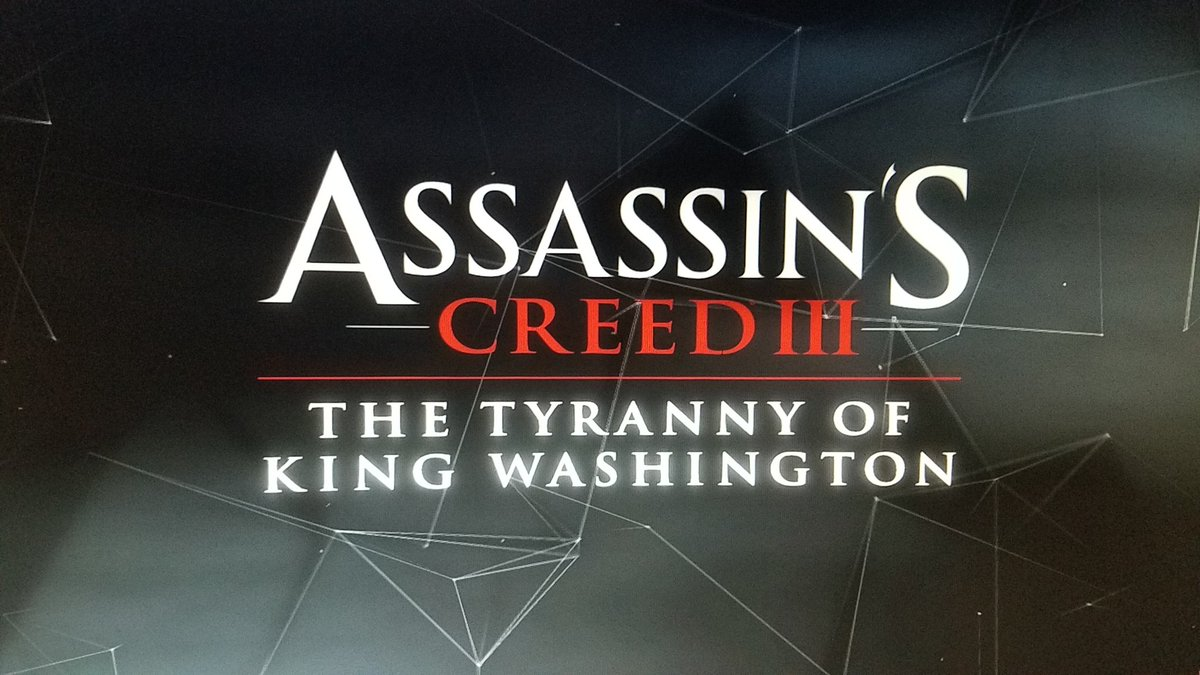 Let's start #AssassinsCreed3 #DLC  We'll have to fight a corrupted George Washington. It begins like a dream and we'r do not understand anything