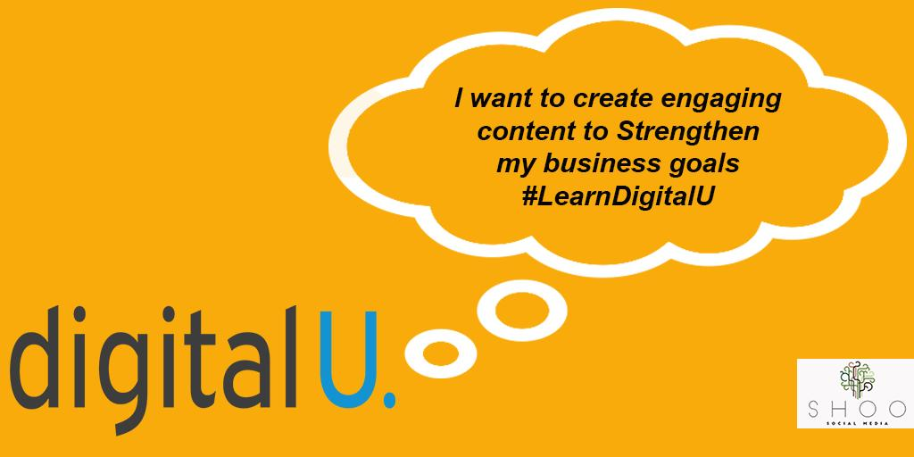 Get ahead and improve your business digitally! Get involved use the hashtag to tell us why you're coming to DigitalU! #LearnDigitalU #DigitalU