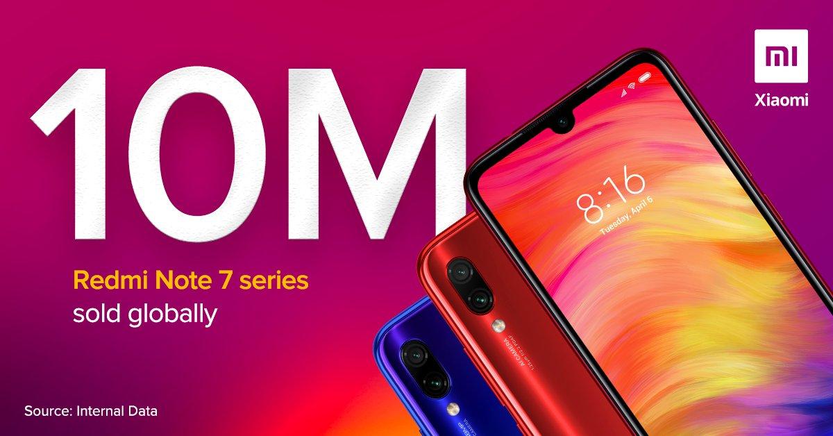Xiaomi Redmi Note 7 - 10 millió darab elfogyott 1