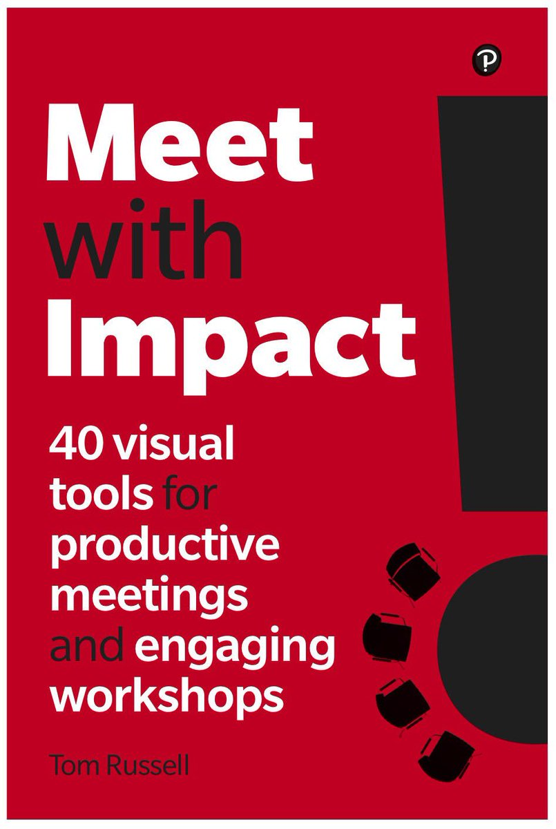 The most productive meetings combine the discipline of planning, the integrity of facilitation, and the power of visual thinking. We're proud to announce the publication of 'Meet with Impact'. Pre-order your copy online now! #meetwithimpact #facilitation #meetings #business