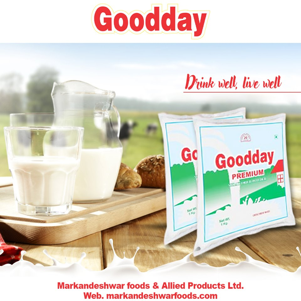 Drinking Well, Live Well ✅100% Secure for Your Baby and for all other family members. Get Your Pack of #Good_Milk_Powder @MarkandeshwarF  For trade call: 9896370720, 97293 44011 #markandeshwarfood #gooday #puremilkpowder #positivethought #plantbased #bananamilkshake #goodhealth