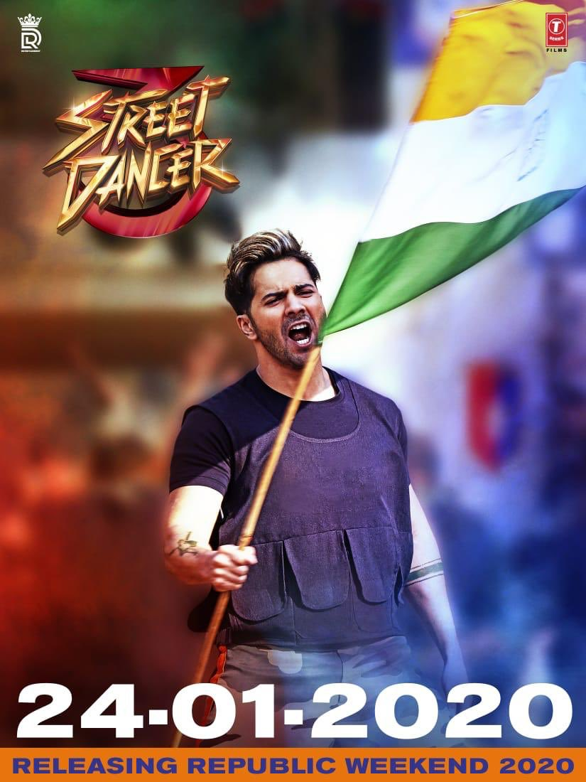 #StreetDancer3D now coming on the 24th of Jan 2020! #RepublicDayWeekend!