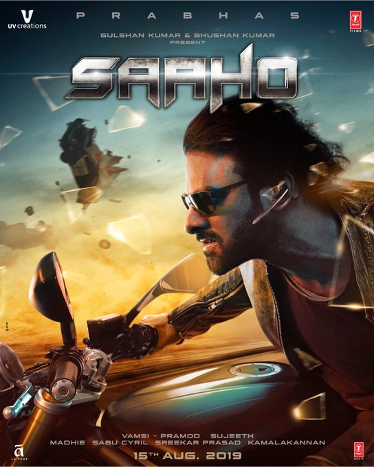 Check out the new action packed poster of the biggest action entertainer of the year! 👊 ❤️   Saaho in