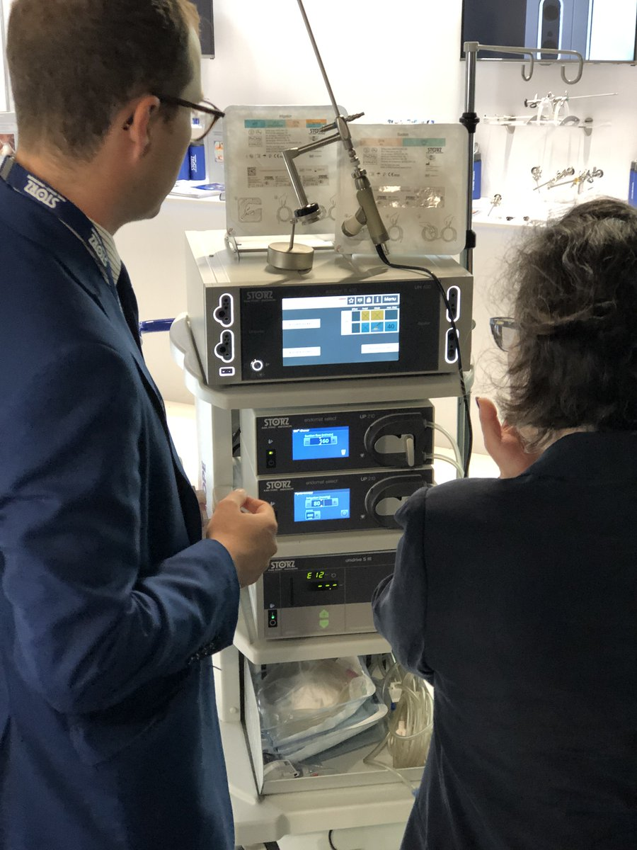 BSGE: 21-23/5/19. KARL STORZ - UK had three eventful days demonstrating many different gynaecology products @TheBSGE.  Contact the team if you require any further information on the highlighted products.              @RCObsGyn #hysteroscopy