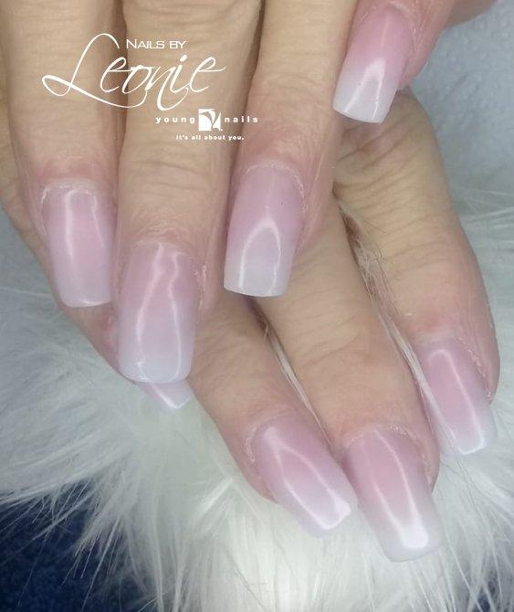 Soft #pink #acrylic set done by Leonie #YoungNails #nailart #nails #beauty #love #fashion #nail #style #beautiful #nailsbyleonie c/o O'Reilly Marry and Curtis street, Benoni CALL NOW 061 527 2359