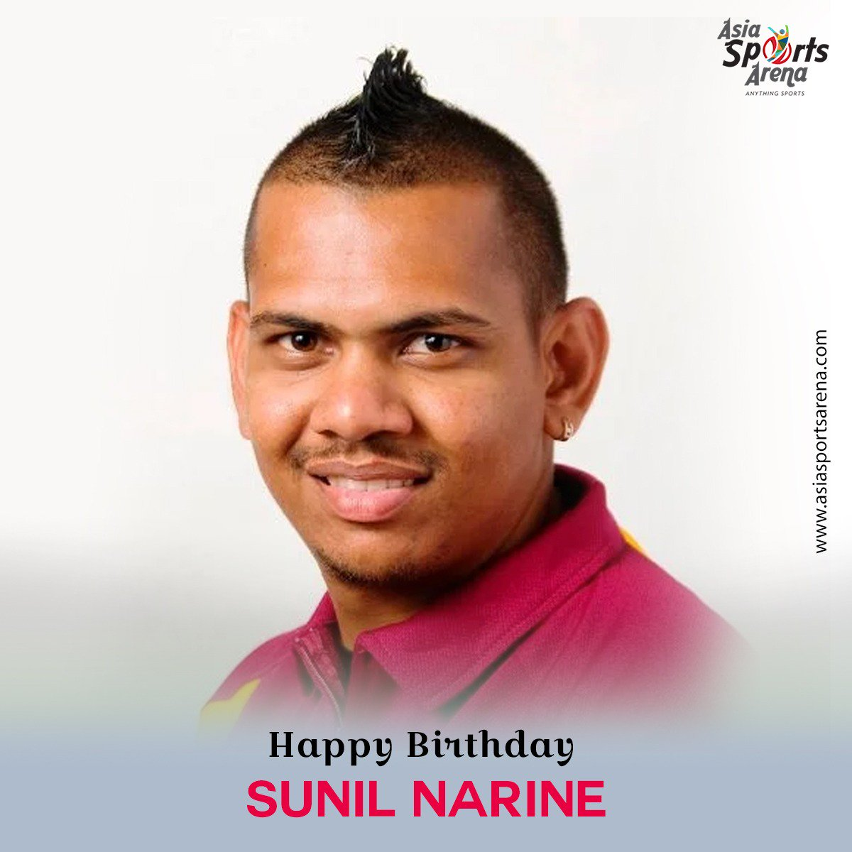 Wishing a very happy birthday to one of the best knights in the cricket world, Sunil Narine. #HappyBirthdaySunilNarine #Cricket #legend #AsiaSportsArena #AnythingSports #HappyBirthday #SunilNarine #Sports<br>http://pic.twitter.com/T7myhK1QpI