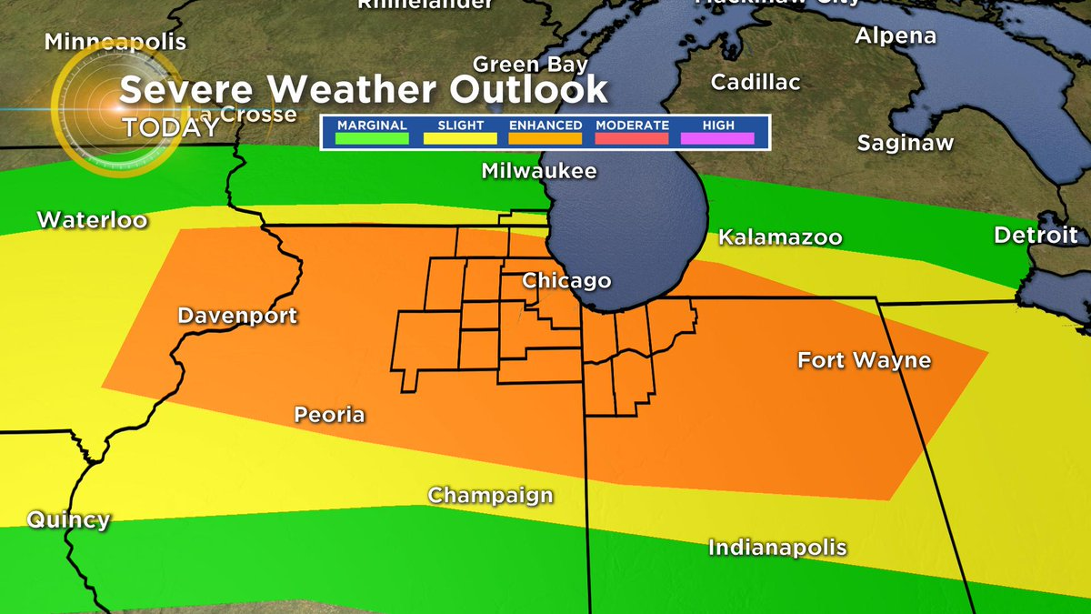Ed Curran On Twitter Enhanced Risk Of Severe Weather Today