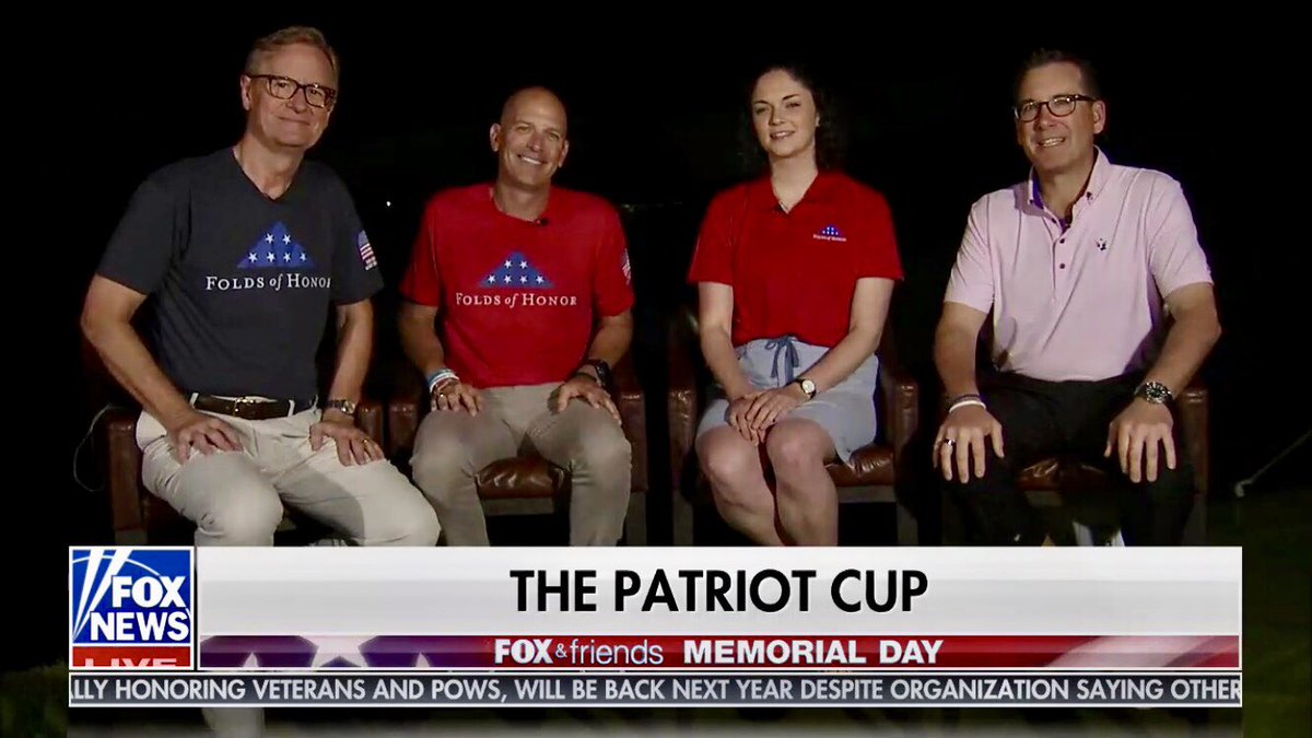 We are live on @foxandfriends at the 10th Annual Patriot Cup! 🇺🇸🇺🇸🇺🇸 Tune in now!
