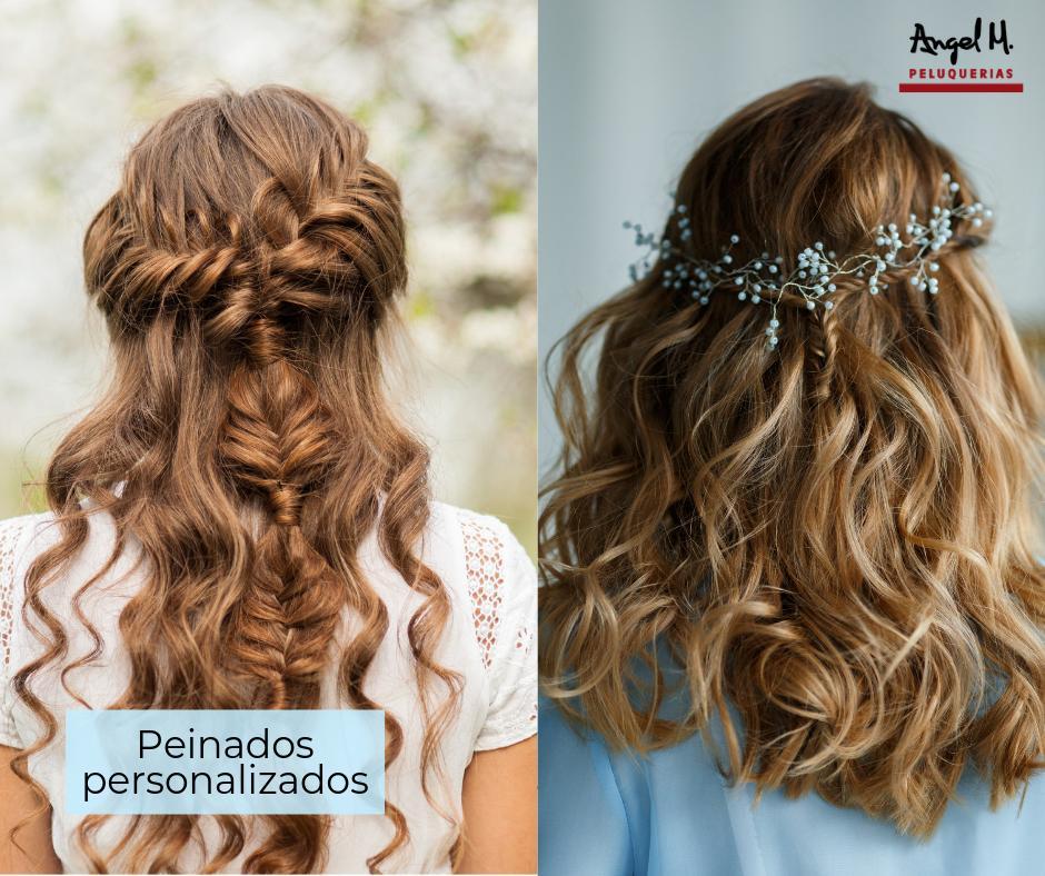 Consigue un peinado totalmente personalizado viniendo a nuestros salones de Granada. Tu resultado será un nuevo look adaptado a tus gustos y personalidad. ¡Somos especialistas! http://angelmpeluquerias.com Pide tu cita 958 20 20 32. #angelmolinapeluquerias #peinados #expertos #look