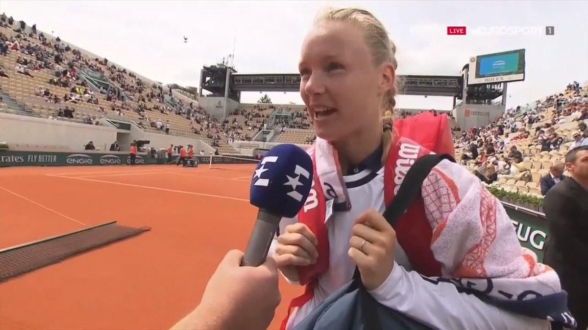 Kiki Bertens vrij eenvoudig naar tweede ronde Roland Garros