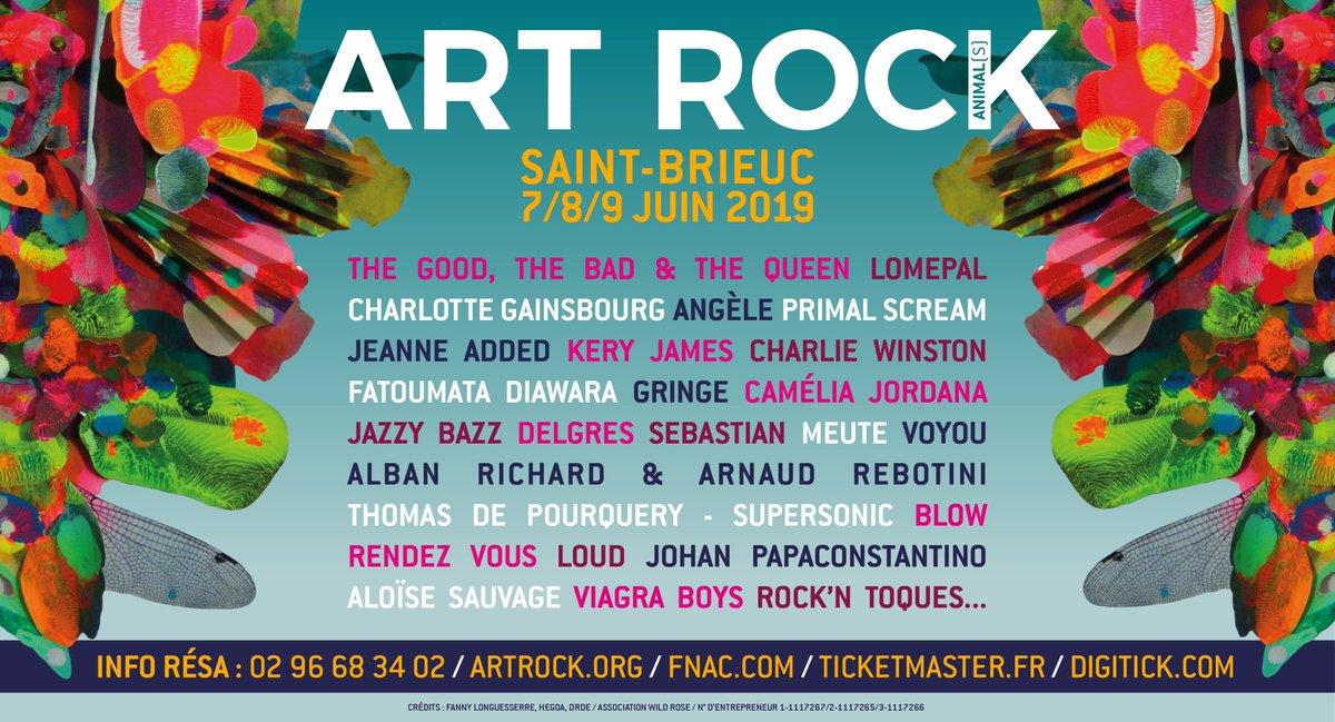 Le @FestivalArtRock revient du 7 au 9 Juin avec une programmation éclectique et qualitative !🎤 Et comme on sait que vous aussi vous voulez voir @angele_vl on vous donne l'occasion de gagner des places par ici👇http://bit.ly/artrockfest #ArtRock2019 #rap #rock #angele #festival
