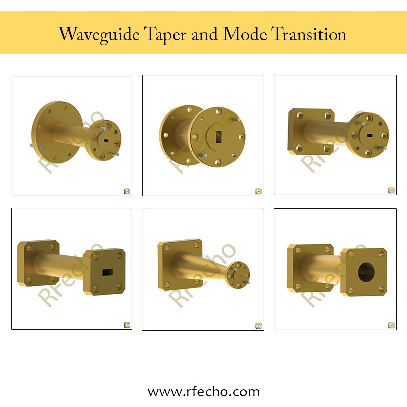 RFecho -Waveguide Taper and Mode Transitions  https://rfecho.com https://www.linkedin.com/rfecho/ https://rfecho.com/product-category/subchild.php?pid=63&cid=349… https://www.linkedin.com/feed/update/urn:li:activity:6538740862808018945…  #Test #Lab #Rugged #Waveguide #Configuration #Low #Insertion #Loss #System #Calibration #Tuning #RFecho #Taper #Mode #Transitions
