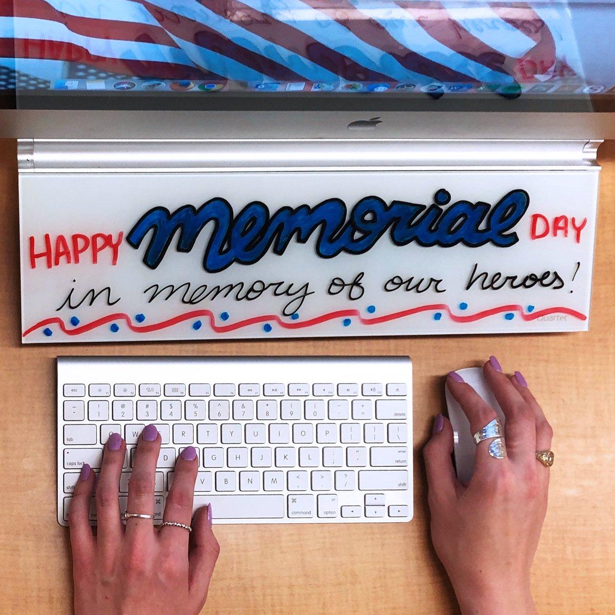 Happy Memorial Day! https://t.co/XtAWdWdzLU