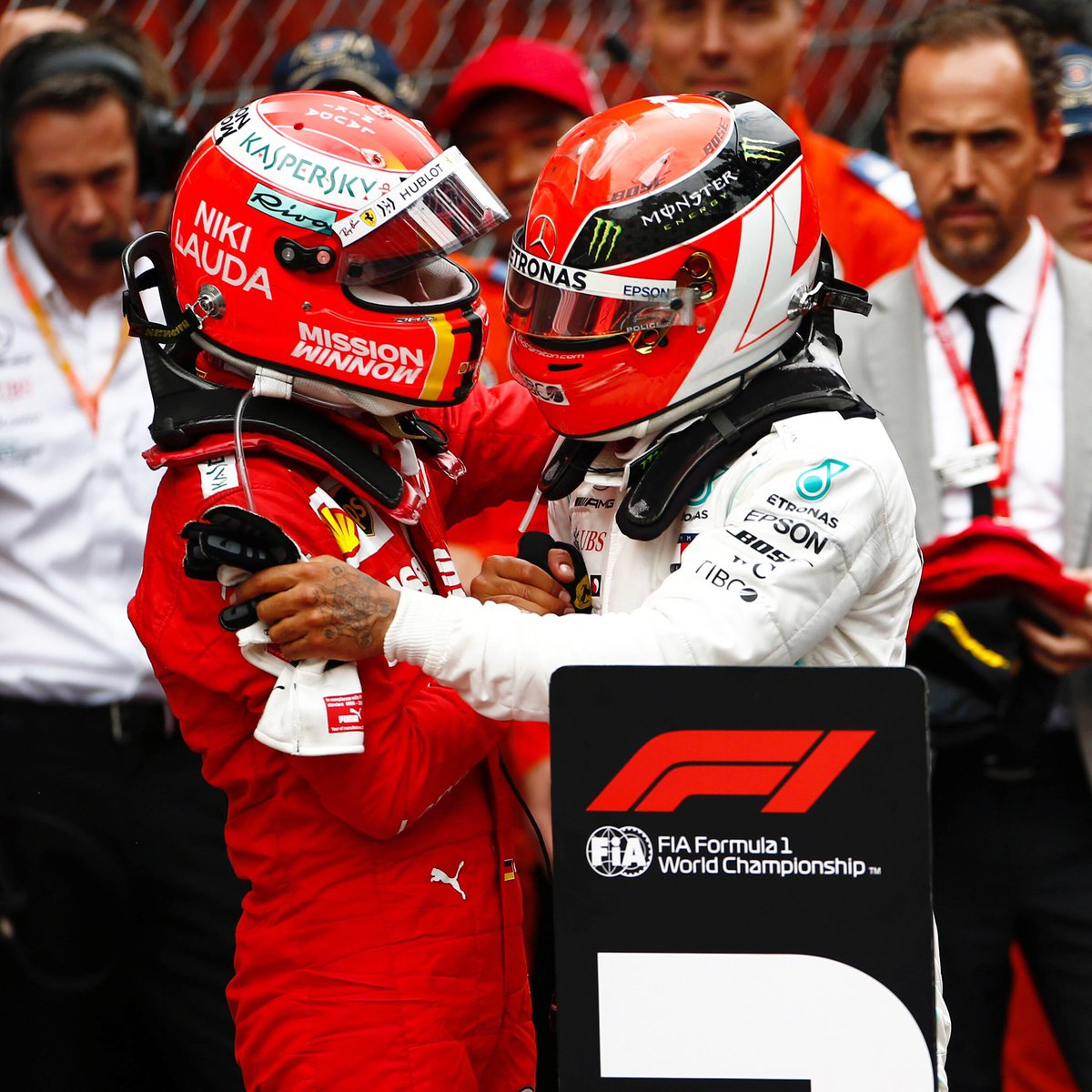 A #MonacoGP 1-2 for Niki  ❤️