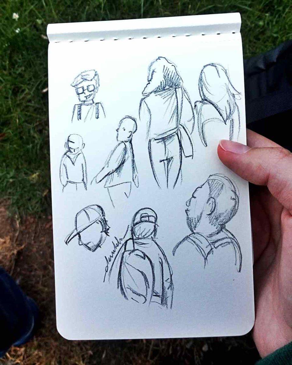 Sketching people https://t.co/SEbJ9SHz1t https://t.co/uC1ESS7cjO