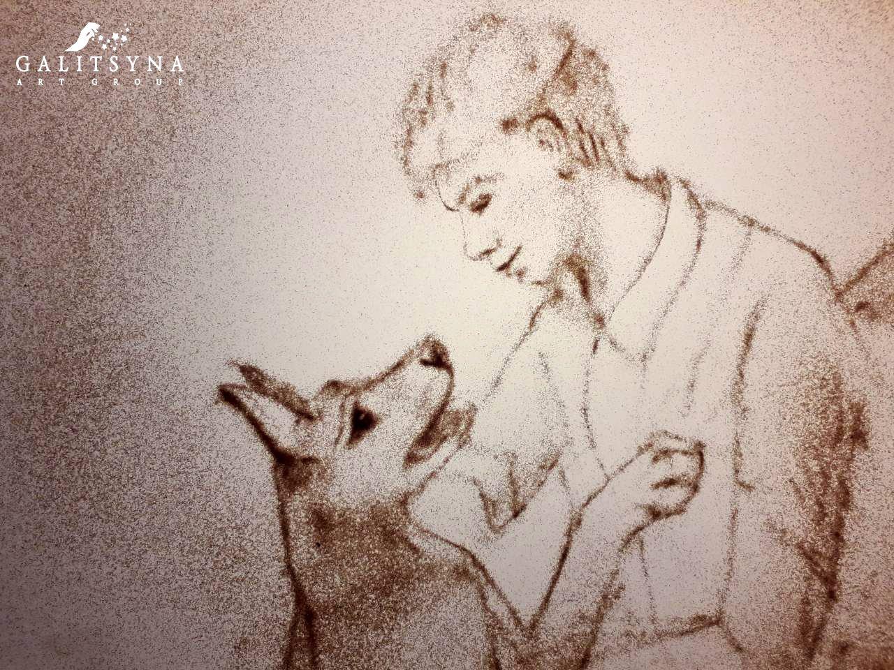 картинка к стиху собаке качалова хранения