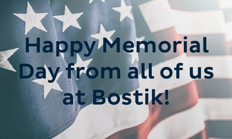 Wishing you a safe and happy holiday! Tweet added by Bostik