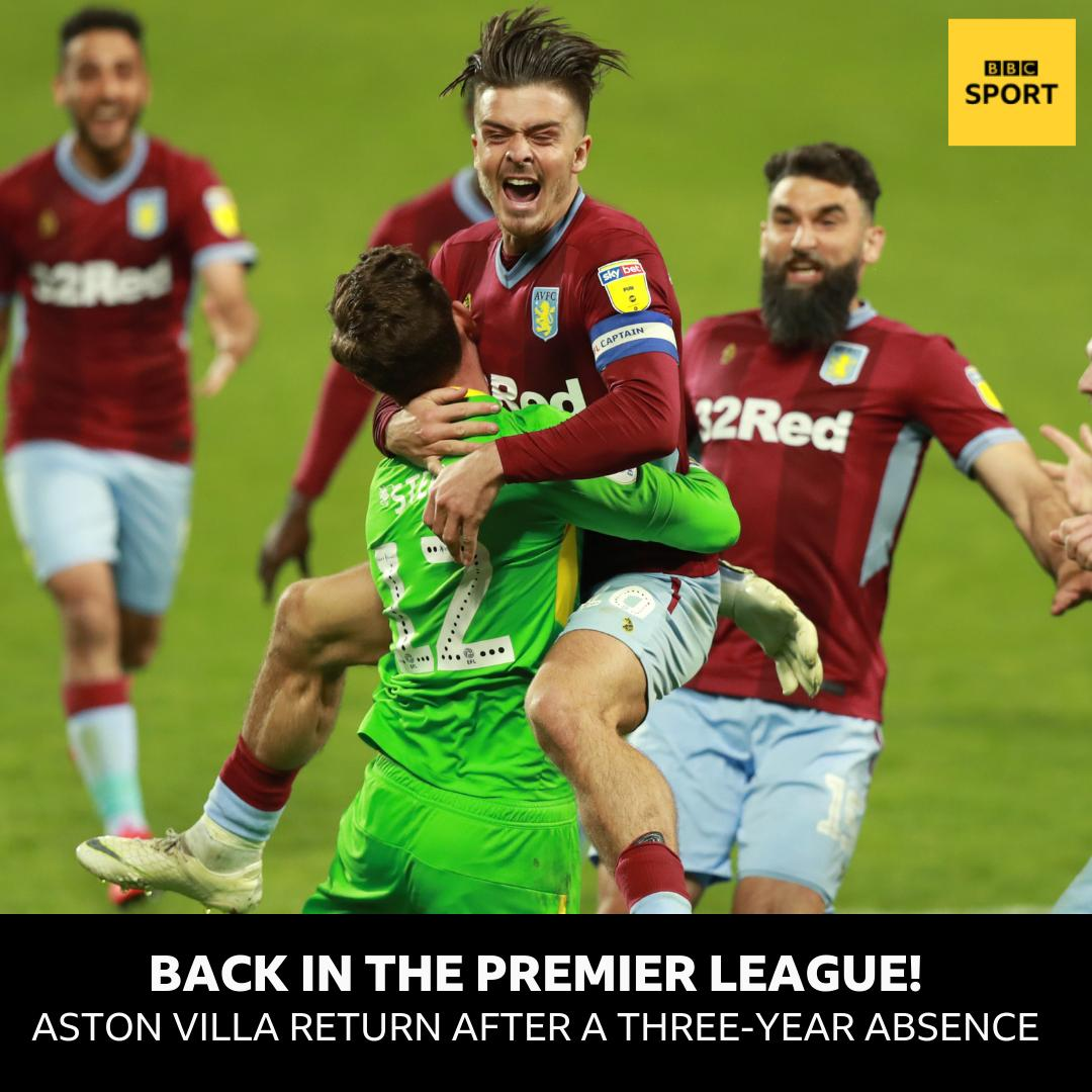 9ceccbcfd Anwar El Ghazi and John McGinn with the goals that see  AVFC return to the  top tier. http   bbc.in 2VOAK0F  PlayOffFinal  AVFCvDCFC  bbceflpic.twitter.com   ...
