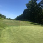 Image for the Tweet beginning: Perfect day for golf. Happy