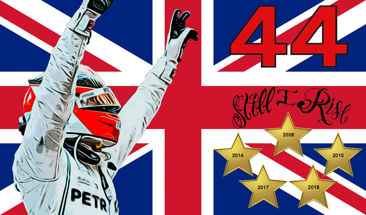 Sooooo, been playing around with a bit of a flag design for Silverstone and Hungary this year, I'm sort of happy with it... What do you guys think? @LewisHamilton @MercedesAMGF1 @Team_LH #TeamLH