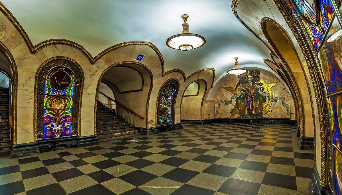 Станция новослободская картинки