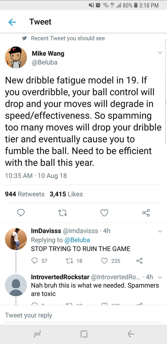 """@Beluba @Nolimitjayvip @Ronnie2K @NBA2K Hey Mike... Remember this?? Turned out it was another lie buddy... Let me guess, this is also not """"gameplay""""??? https://t.co/F6tZ11HNM6"""