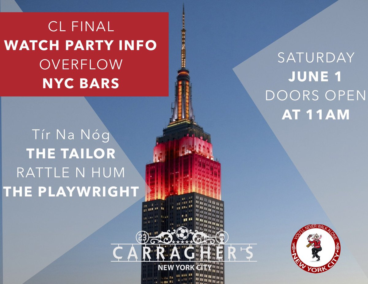 Carraghers New York on Twitter: