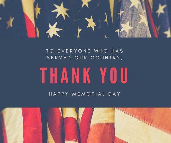 Thank you #thankful #MemorialDay2019