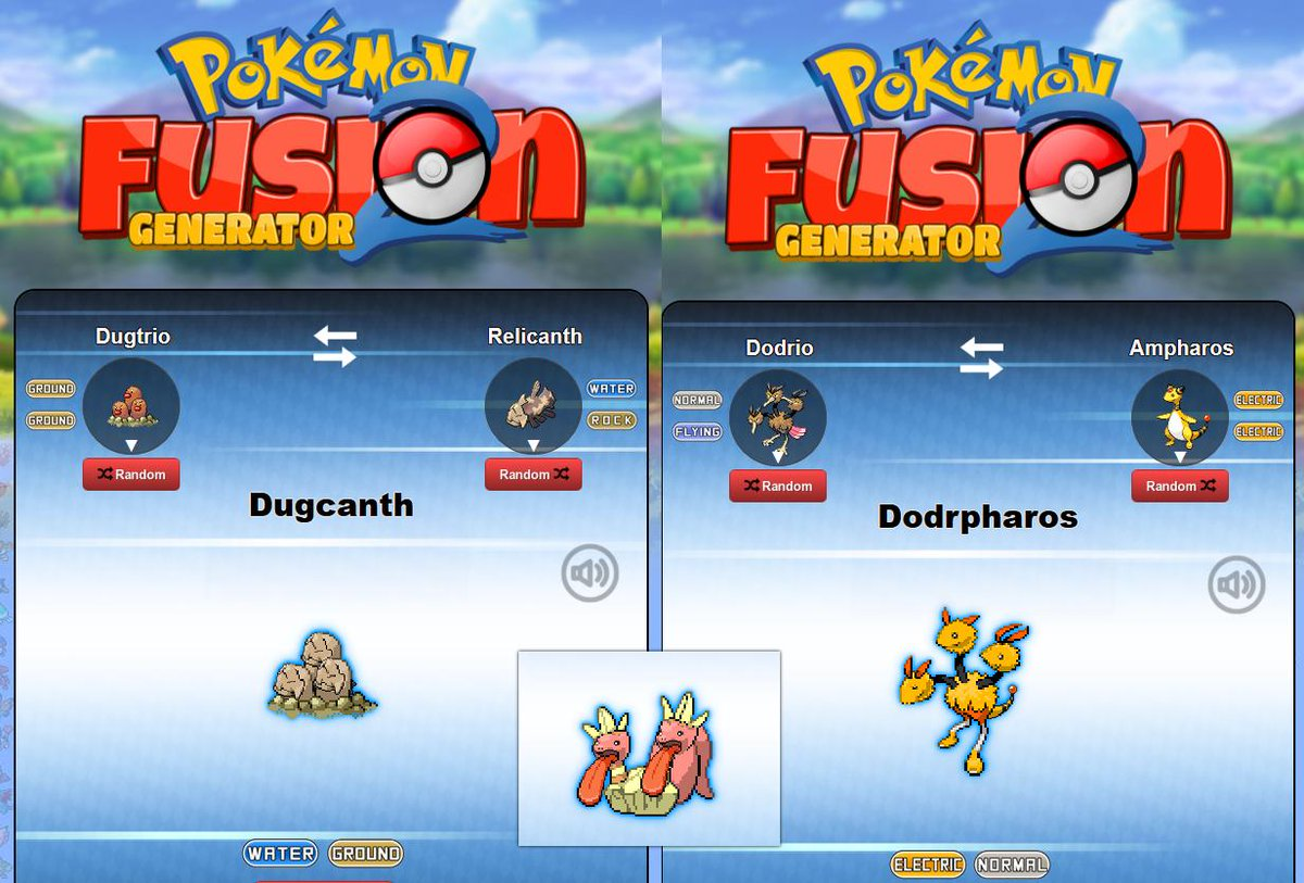 """PokeFusion Generator on Twitter: """"Pokemon with multiple faces will now have  multiple faces changed including Kangaskan! #pokefusion #pokemon #fusion… """""""