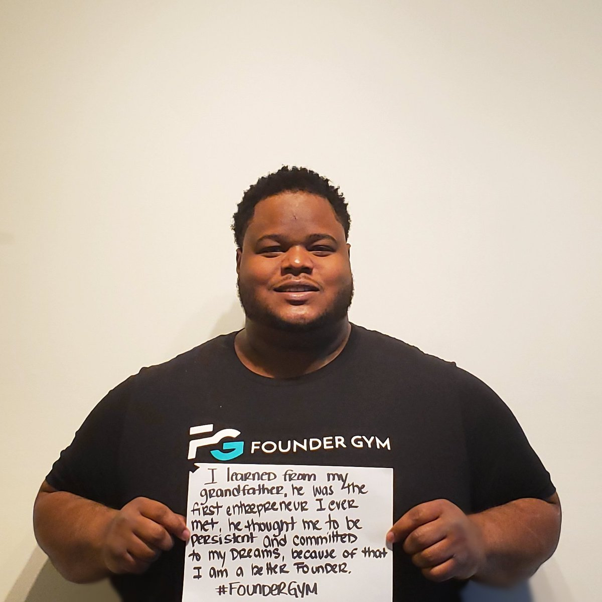 At @foundergym, my differences are valued as strengths. #foundergym