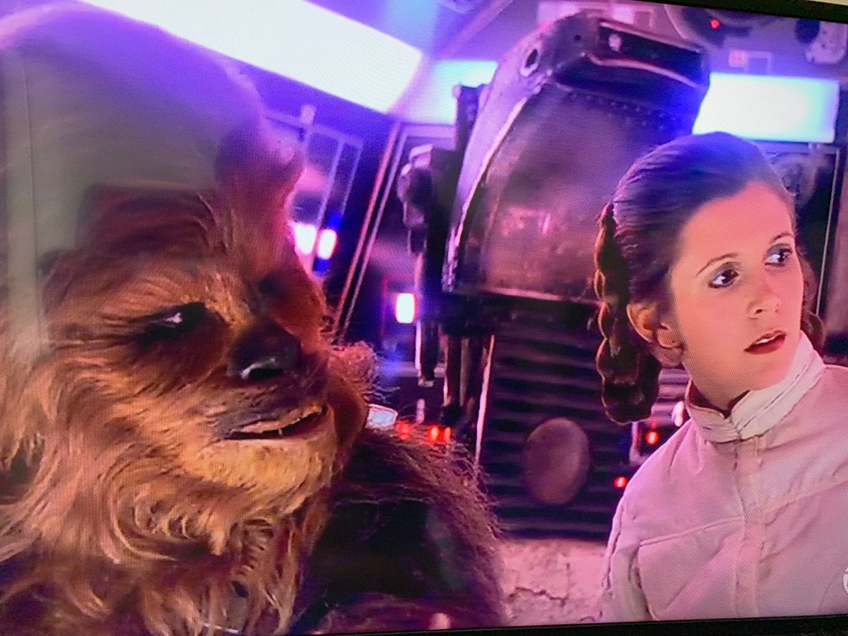 Ja Adande On Twitter The Shade From Chewbacca And Leia Toward