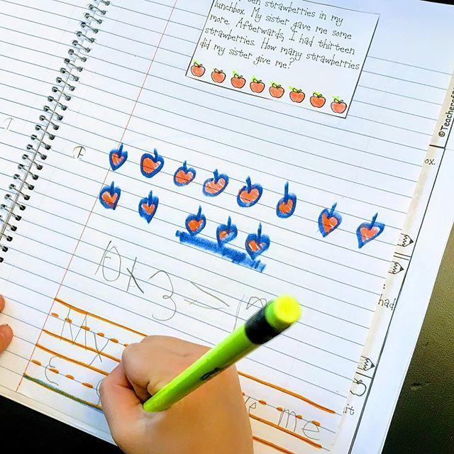 Practicing our problem solving this summer. #cognitivelyguidedinstruction #mathproblems #wordproblems #firstgrade #firstgradeteacher #teachermom #teacherspayteachers http://bit.ly/2VUrQia