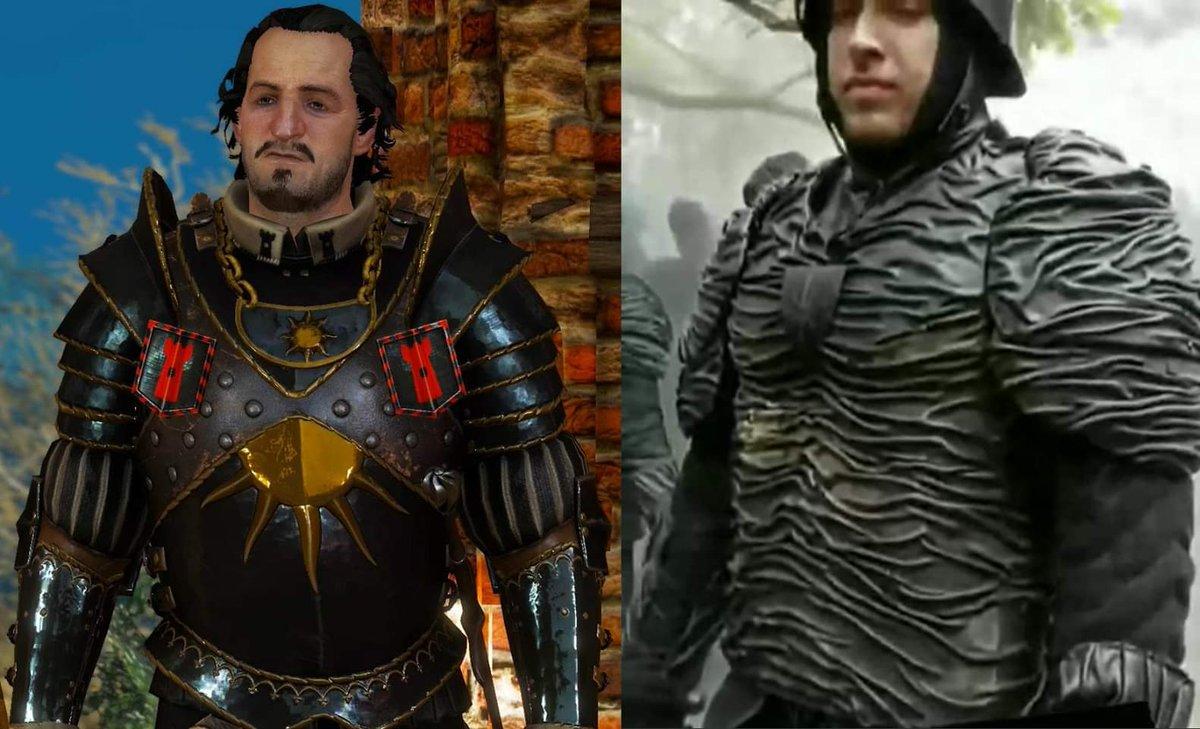 Risultati immagini per nilfgaardian armor