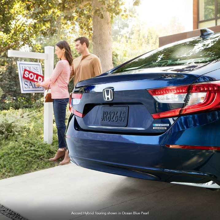 As you move from place to place over the years, your Accord Hybrid is here for you every step of the way.