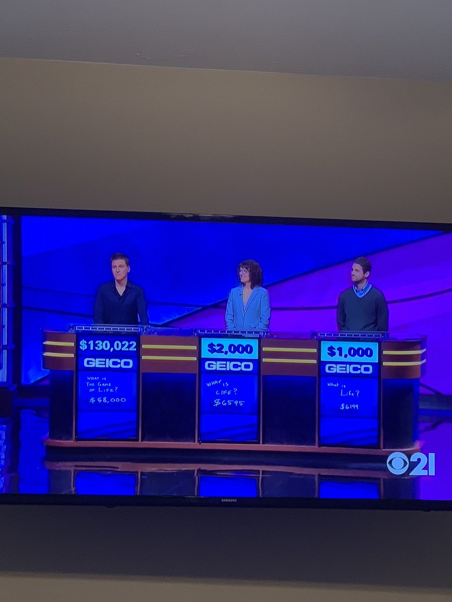 Jeopardy: James Holzhauer fell just short of breaking his own record