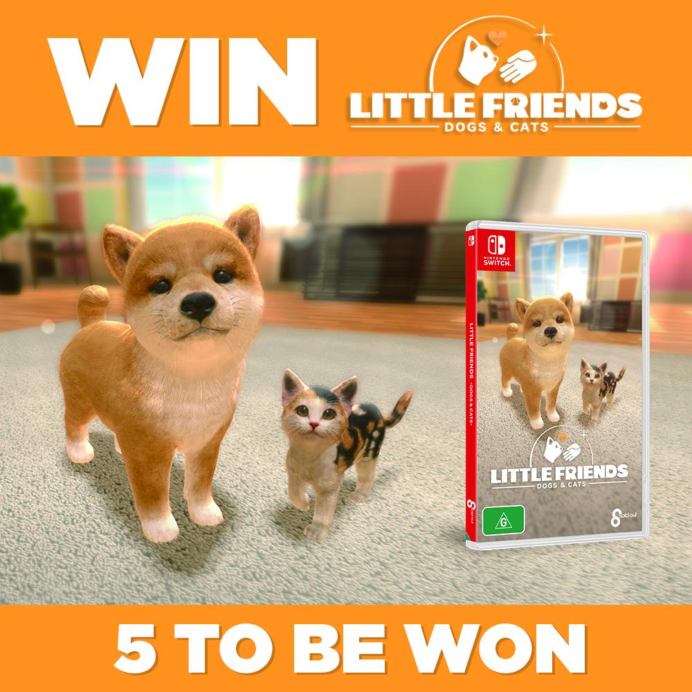 😻 Cuteness overload! 🐶 Little Friends is OUT NOW on Nintendo Switch and we've got 5 copies to giveaway.   Like and RT this post for your chance to WIN. Good Luck! 👍