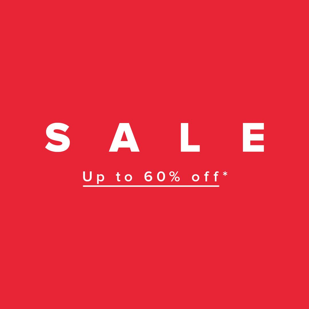END OF SEASON SALE: UP TO 60% OFF*! 🚨 Perfect for a gift from you to you.   Shop Sale > https://t.co/Tn46qhhBl1  *Prices as marked. Selected styles and colours listed. Subject to terms and conditions. #theiconic https://t.co/mmaNrUvjeM