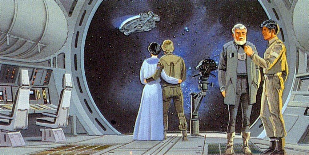 Star Wars Empire Strikes Back Concept Art