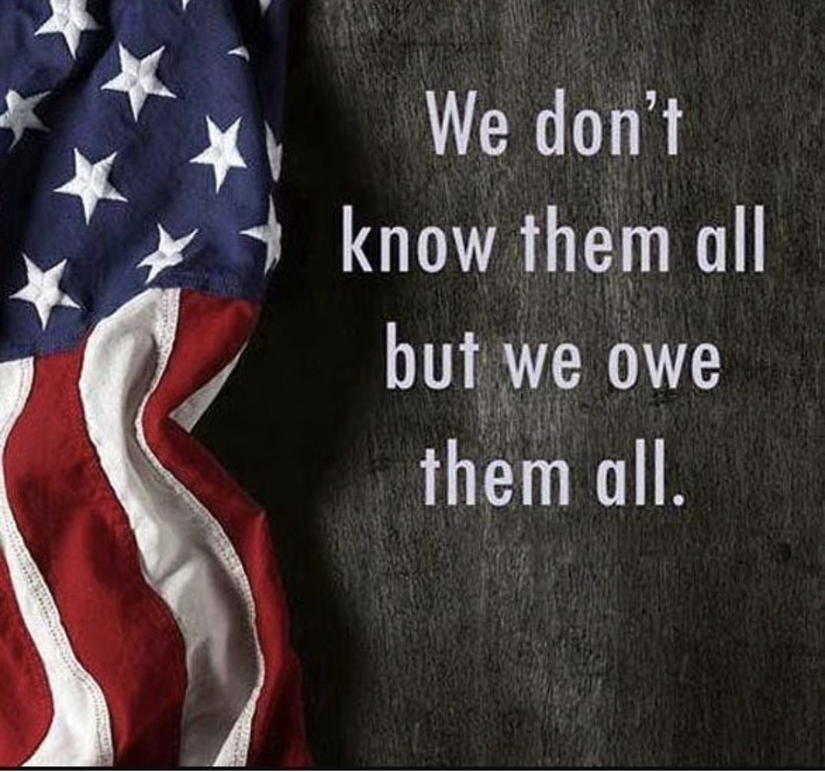 We thank you for your amazing sacrifice for us to have our freedoms✌🌞💛