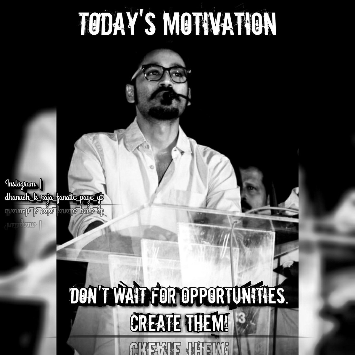 ❤ Today's Motivation❤as of 28 May 2019.... Follow us For More #Dhanushism!😍😘 #dhanushveriyan #dhanushmass #dhanushkraja #Dhanush  #dhanushkodi #dhanushfc #dhanushian  #dhanuskodi #dhanushkraja_fc #followme #followtrain #followback #followforfollowback  #followforfollowback
