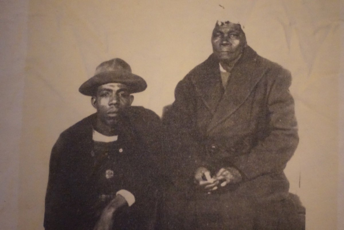 """jelani cobb on Twitter: """"My grandfather and his grandmother who ..."""