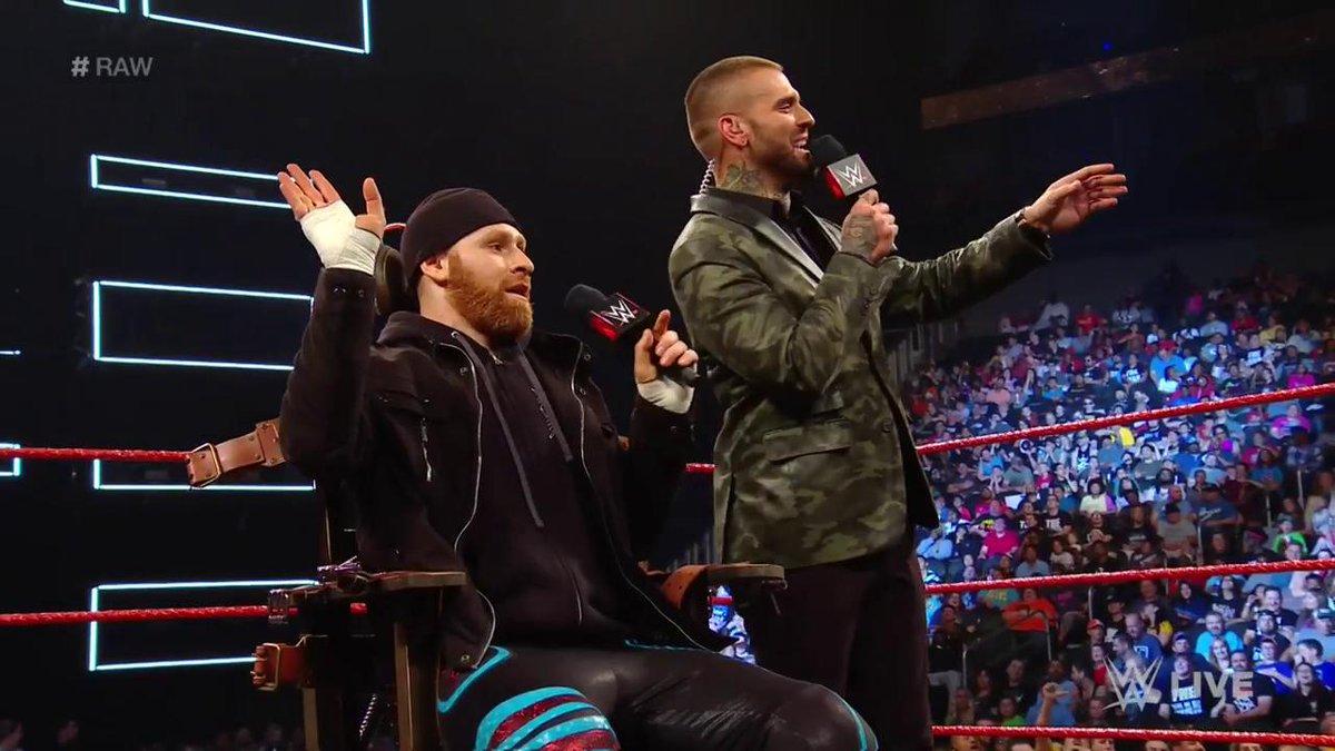 Sami Zayn Name-Drops AEW On Tonight's WWE RAW (Video)