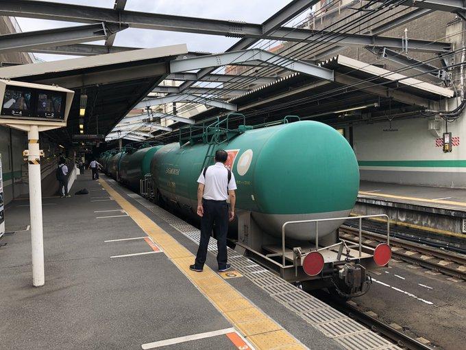 武蔵野線の新小平駅で人身事故の現場画像