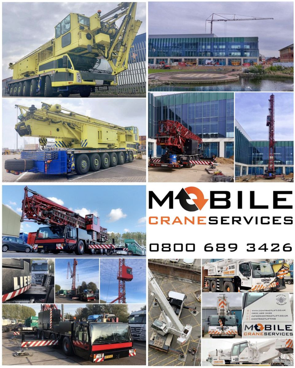 Mobile Crane Service - @contractlifting Twitter Profile and