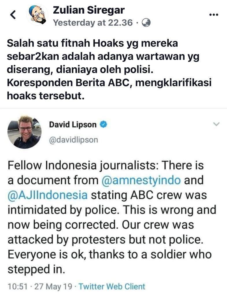 IndonesiaSATU (@ArsitekMenulis) on Twitter photo 28/05/2019 07:41:25