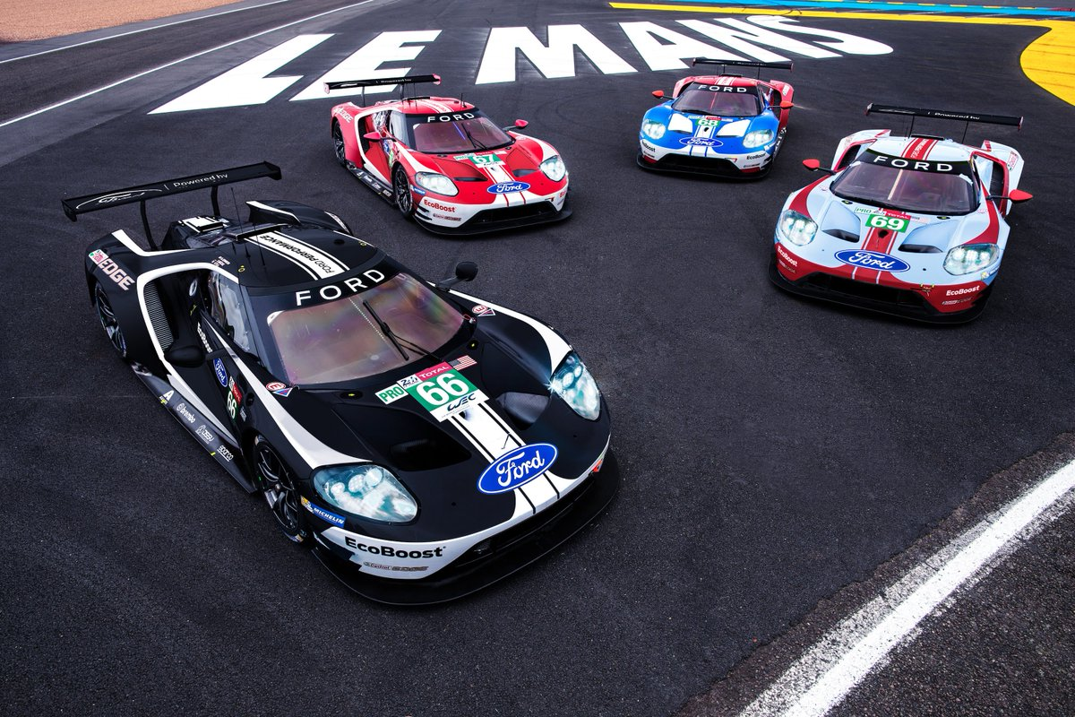 As we enter the final #LeMans24 for our current factory #FordGT program, we celebrate a selection of our most successful cars in the worlds premier endurance race.
