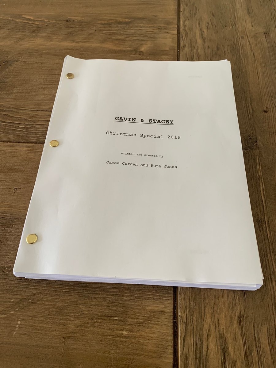 Ruth Jones and I have been keeping this secret for a while... We're excited to share it with you. See you on Christmas Day ⁦@BBCOne⁩ #GavinandStacey