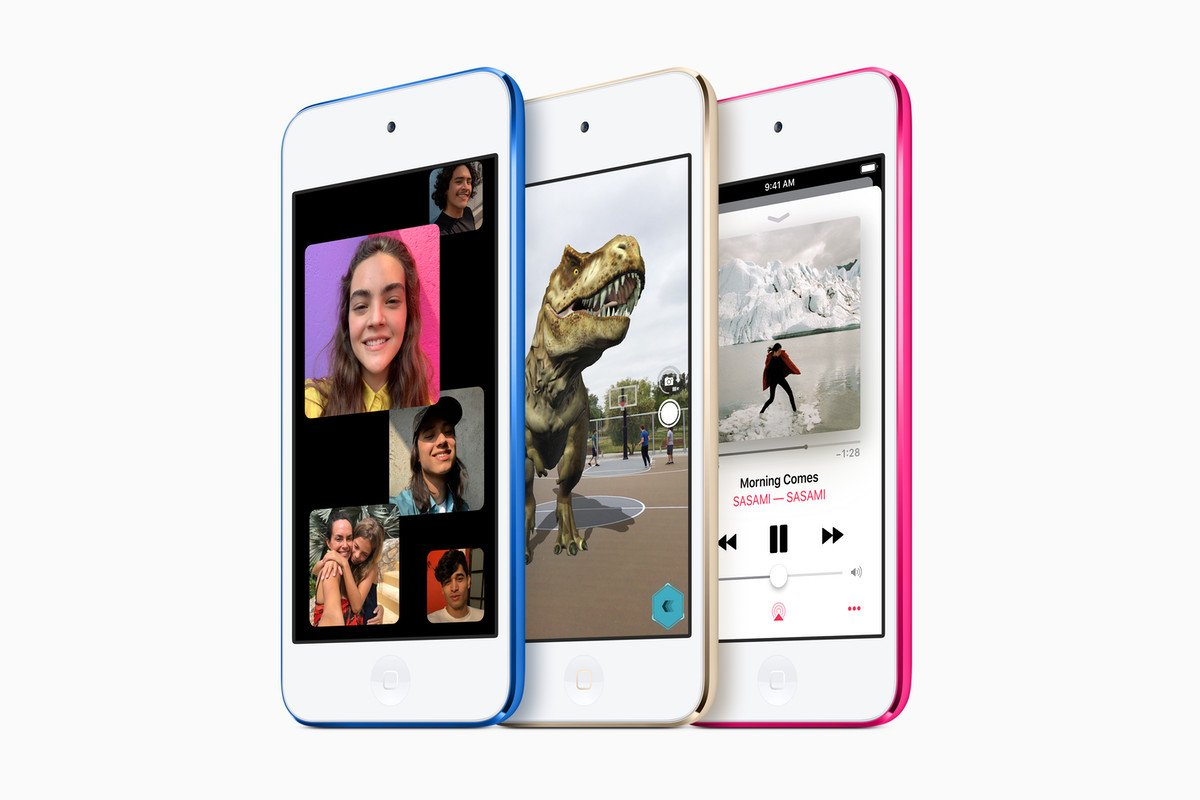 Apple refreshes the iPod touch with the iPhone 7's processor