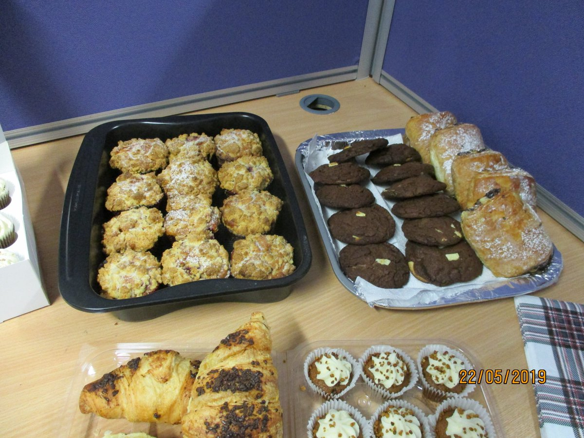 Exyte charity bake sale